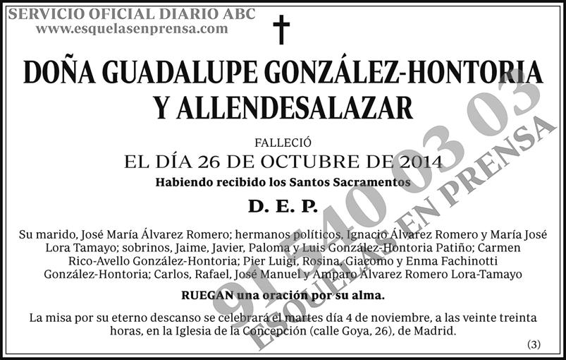 Guadalupe González-Hontorio
